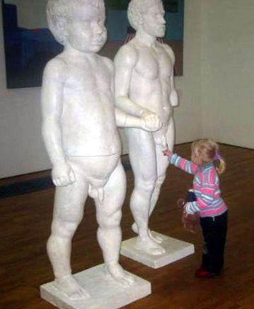 Дети и памятники 05