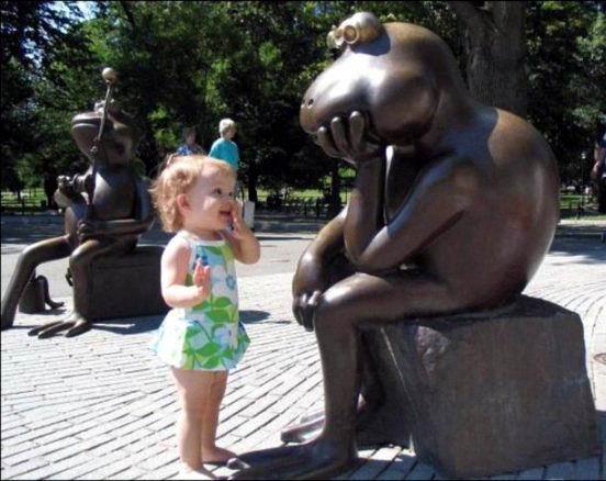Дети и памятники 13