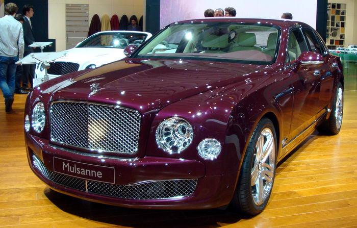 Дорогие машины Bentley Mulsanne