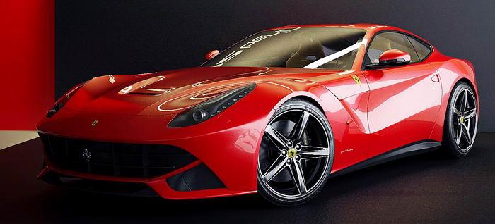 Дорогие машины Ferrari F12 Berlinetta