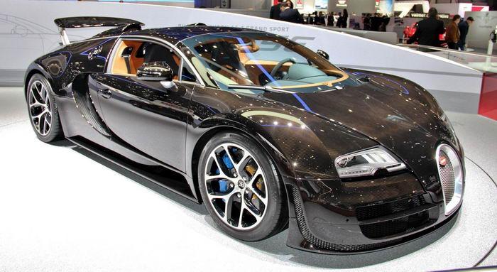 Дорогие машины bugatti veyron 164 grand sport vitesse