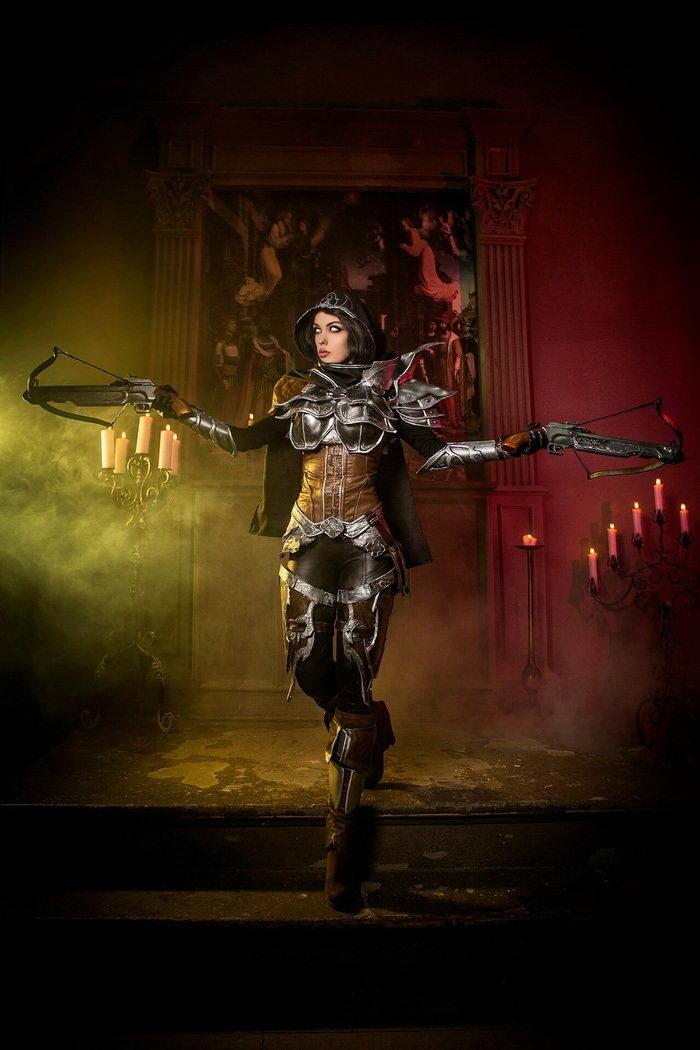 годный косплей Diablo Demon Hunter