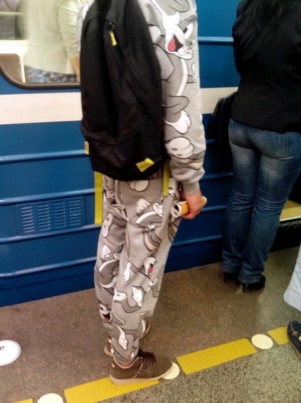 странная мода метро