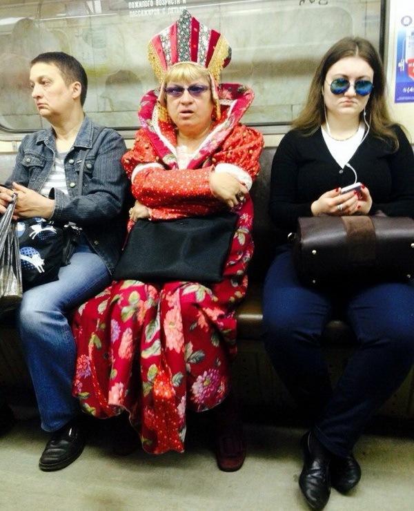 мода в метро