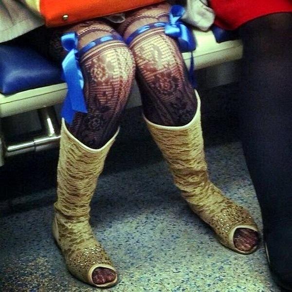 мода в метро фото