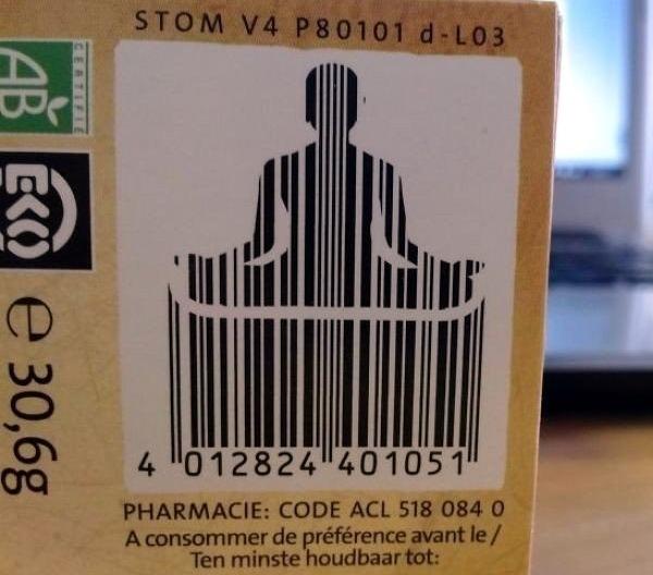 дизайнерские штрих коды