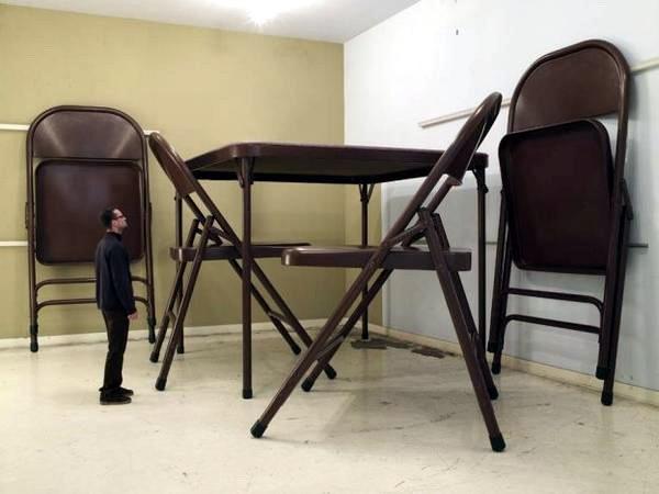 мебель для огромной кухни