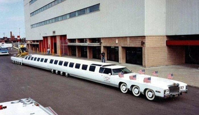 лимузин поезд