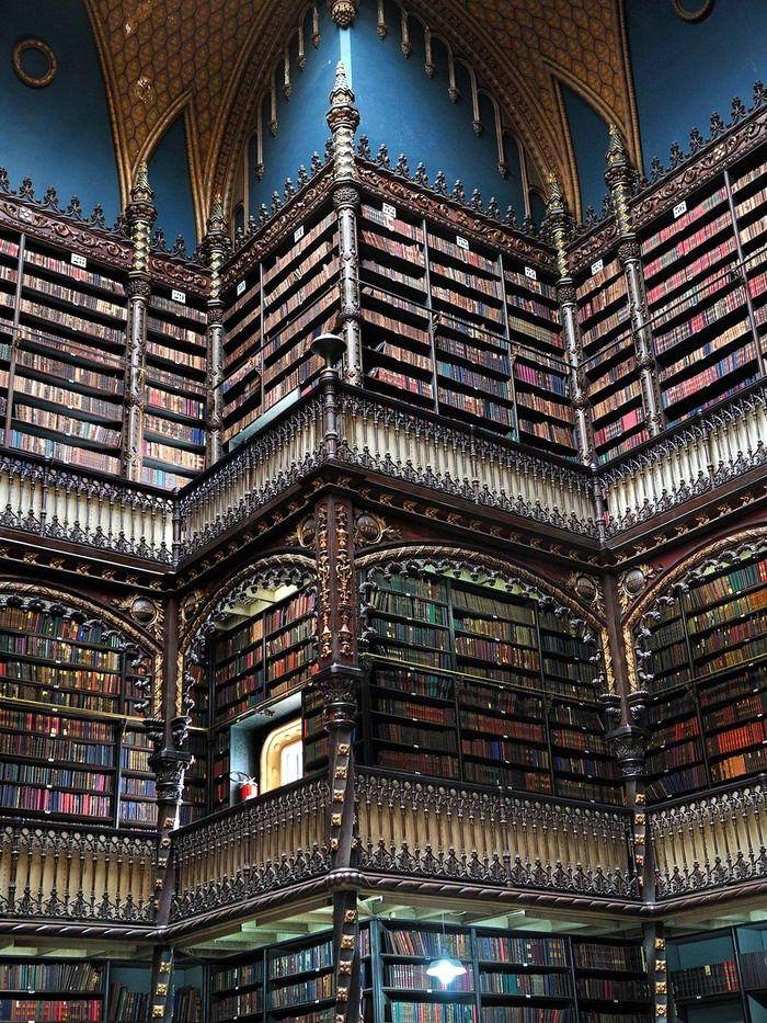 Библиотека в Рио-де-Жанейро, Бразилия