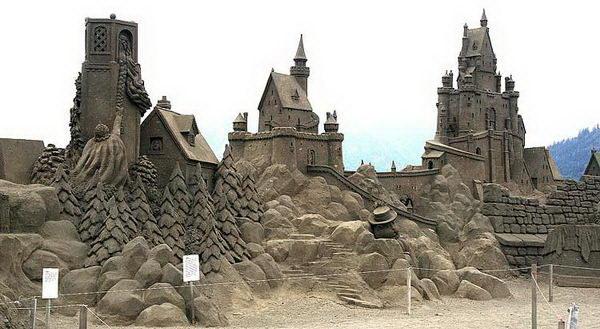 фигуры из песка