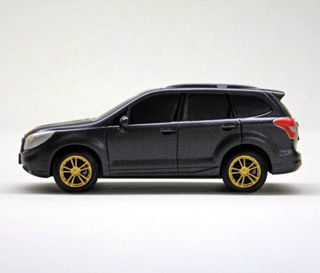 Субару Форестер модель Subaru Forester деревянная машина своими руками