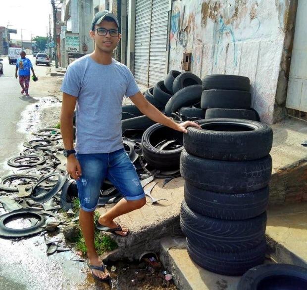 Отличное применение старых шин