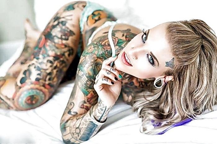 татуированные девушки тату фото
