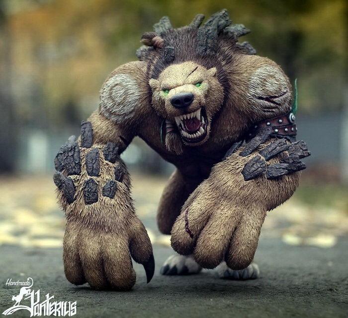 фигуры World of Warcraft работы Анны скульптора из Украины