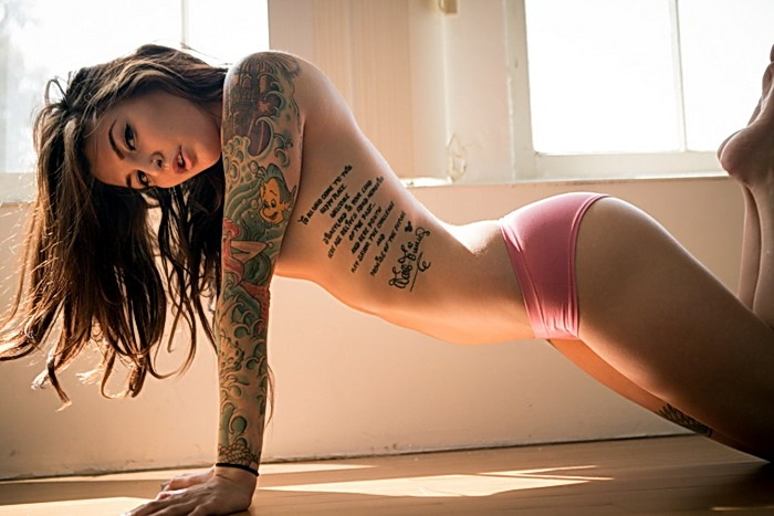 татуированные девушки тату для девушек сексуальные татуировки