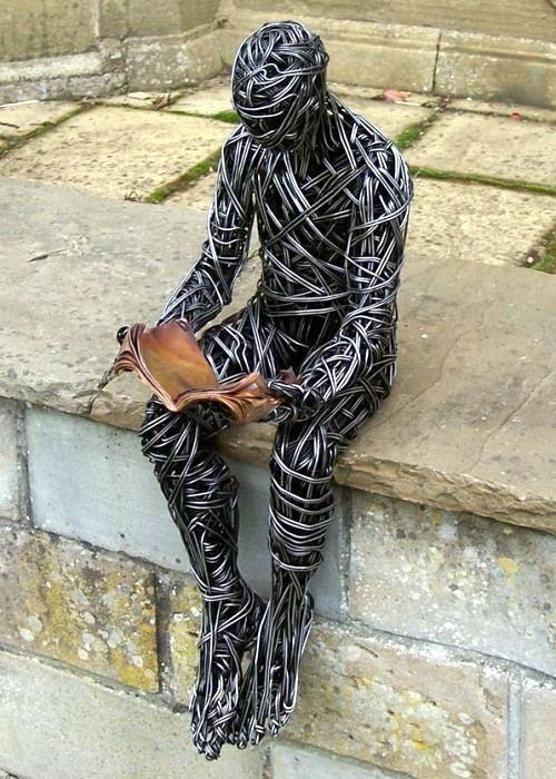 Скульптуры из проволоки Ричарда Стейнтхорпа