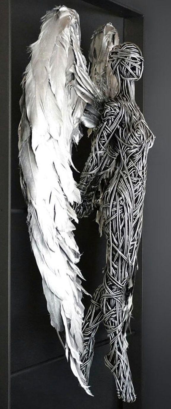 Проволочные скульптуры Ричарда Стейнтхорпа Wire Sculpture by Richard Stainthorp скульптуры из проволоки