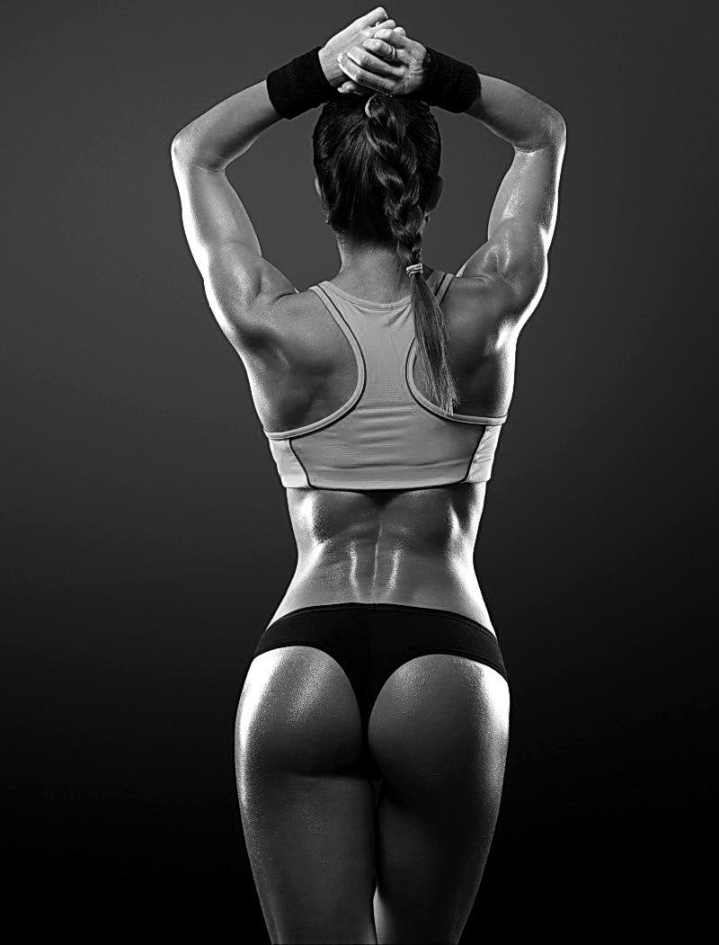 спортивные девушки черно-белое фото фитнес эротика девушки